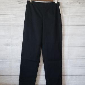CAbi black pleated trouser size 4